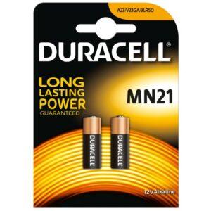 Duracell Pila Alcalina MN21 LR23A 12V Blister*2