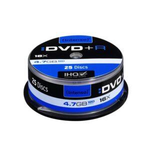 Intenso DVD+R 4.7GB 16x Tarrina 25Uds