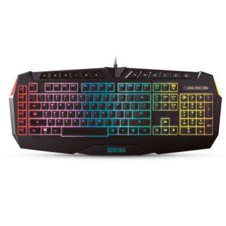 Krom Teclado Gaming KHAIDO Iluminacion RGB