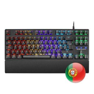 Mars Gaming Teclado MKXTKL 5 led tkl outemu roj pt