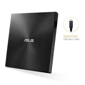 Asus DVD-RW SDRW-08U9M-U Slim Negra USB 13.9mm