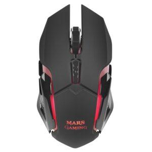 Mars Gaming Ratón Inalámbrico MMW 3.200 DPI