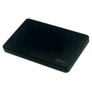 """approx! APPHDD200B caja HDD 2.5"""" SATA 2.0 Negra"""