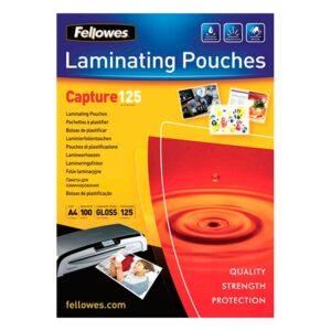 Fellowes Pack 100 Fundas Plastificar A4