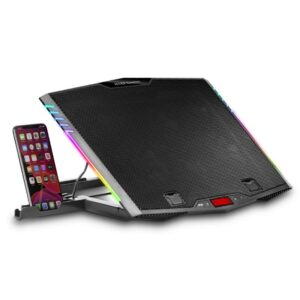 Mars Gaming MNBC5 ARGB Refrigerador +Soporte Móvil