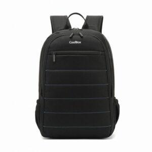 "Coolbox Mochila Portatil 15.6"" Negro - Impermeable"