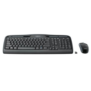 Logitech Teclado+ Ratón MK330 USB Negro