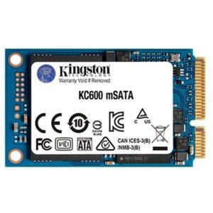 Kingston SKC600MS/512G SSD 512GB TLC 3D mSATA